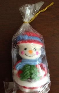 ホーチミン 雪だるま 飾り.JPG